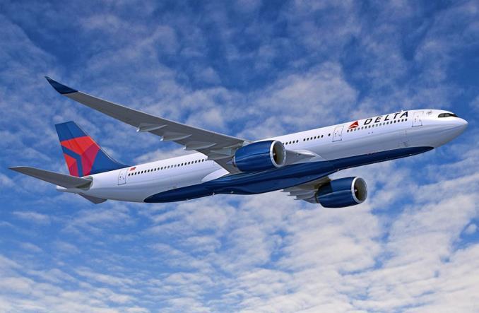 A330-900 авиакомпании DeltaAirLines
